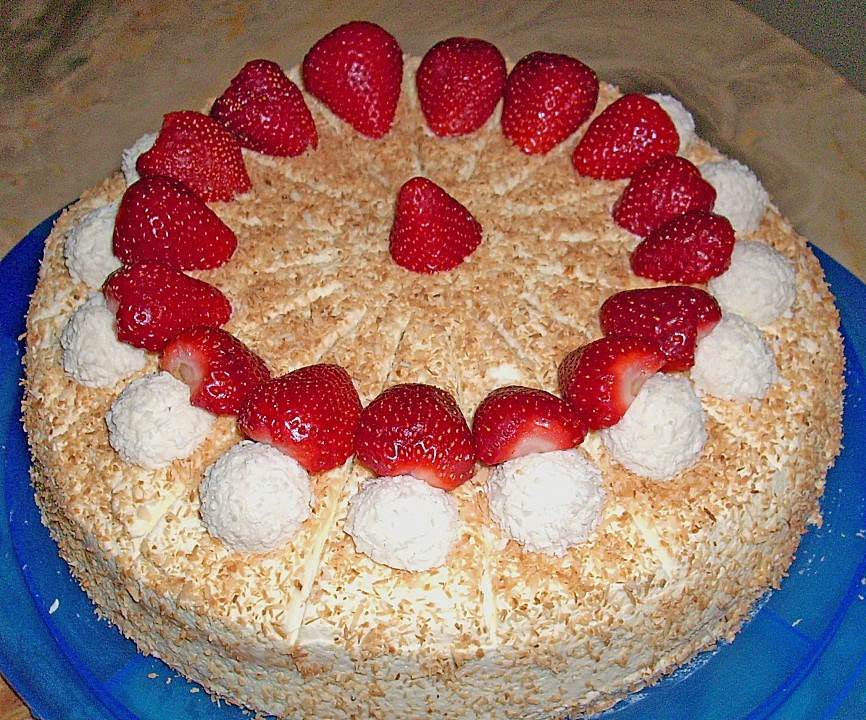 Leckere Rezepte Fur Erdbeer Sahne Torte Ohne Gelatine
