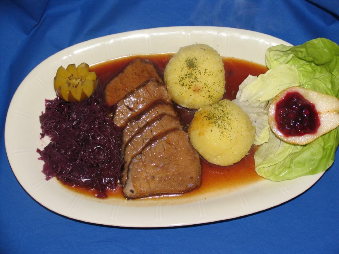 Leckere Rezepte für einen fränkischen Sauerbraten