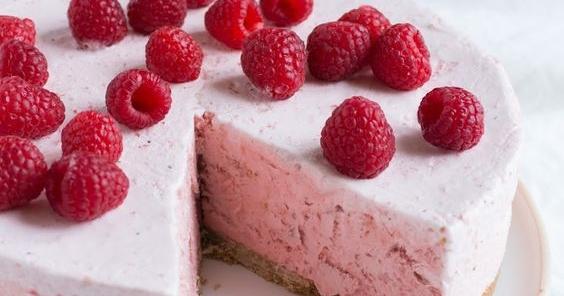 Butterkeks Himbeer Kuchen 2 5 5